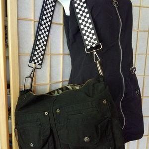 Handbags - Black Denim Shoulder bag